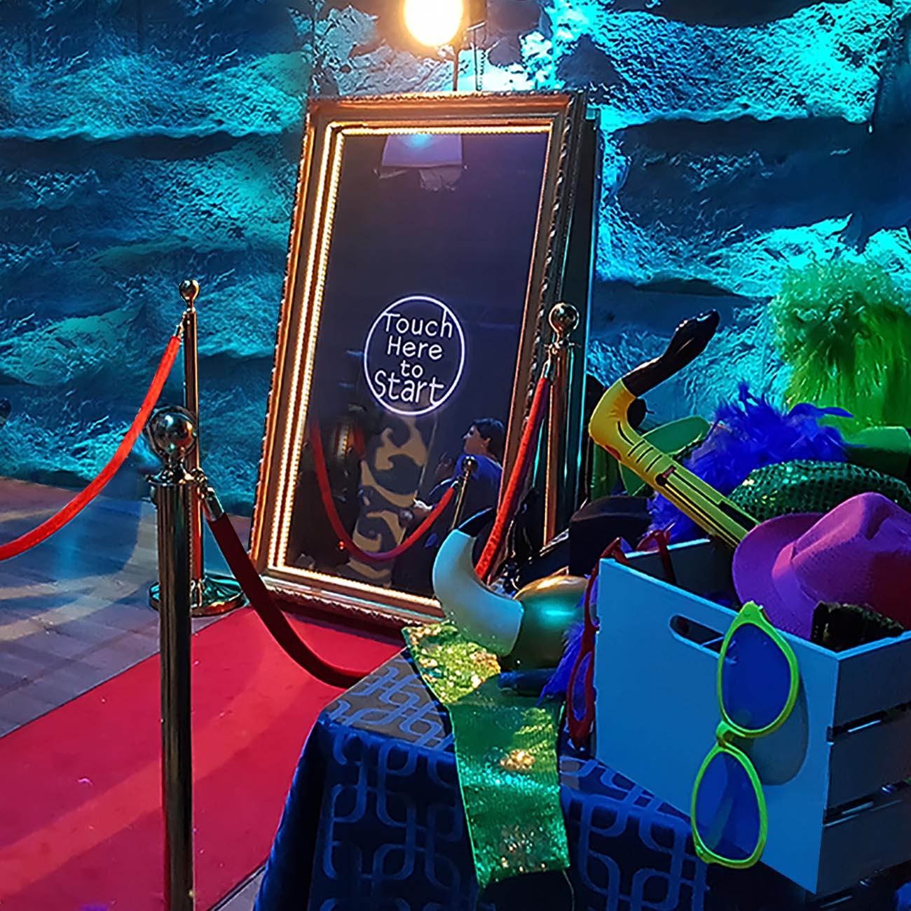 Miroir magique selfi photobooth